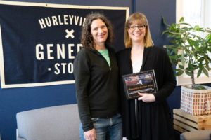 Hurleyville General Store Empire Award from Senator Metzger