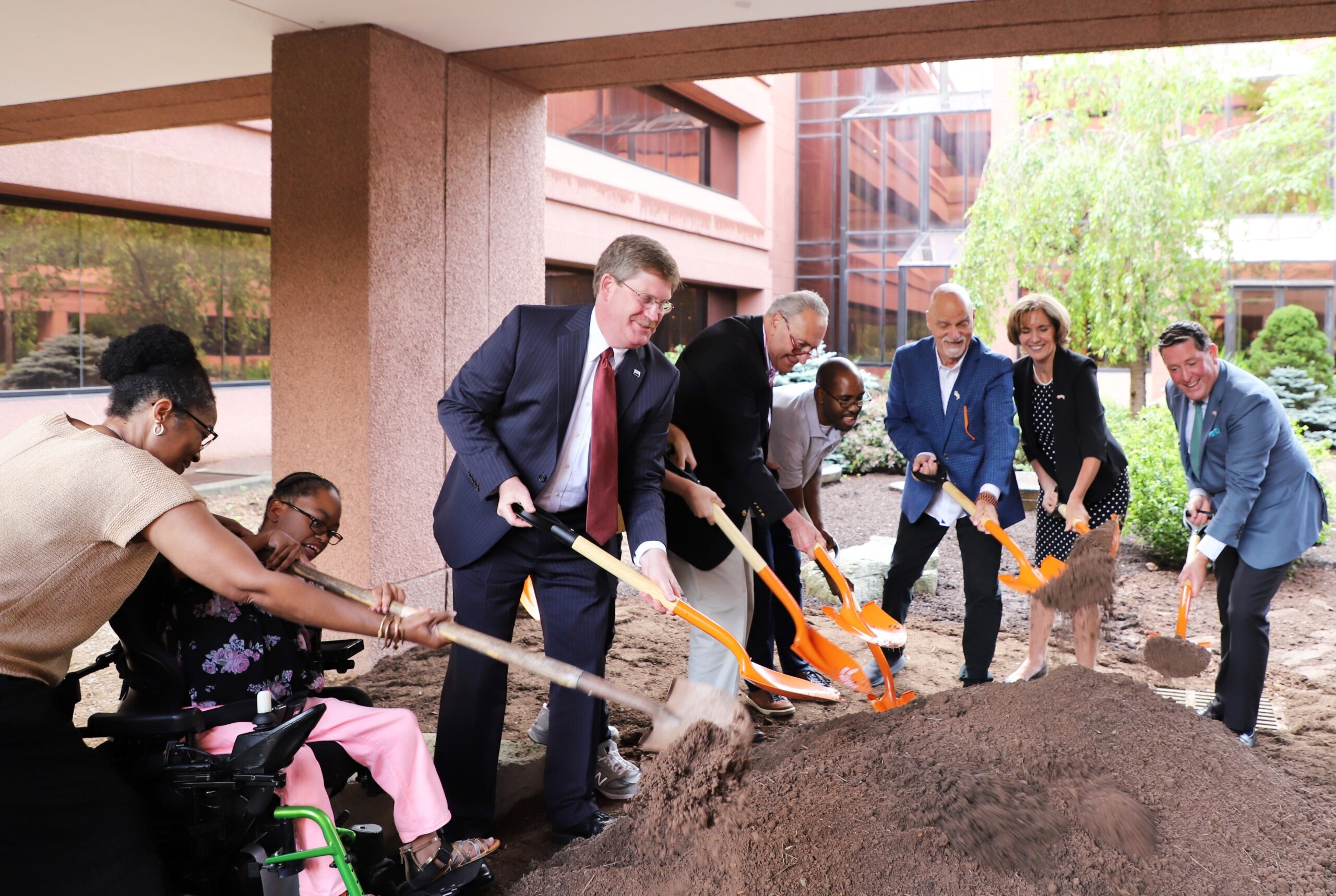TCFD and Schumer Groundbreaking
